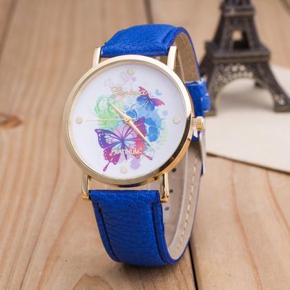 woman wrist watch,The butterfly Col..