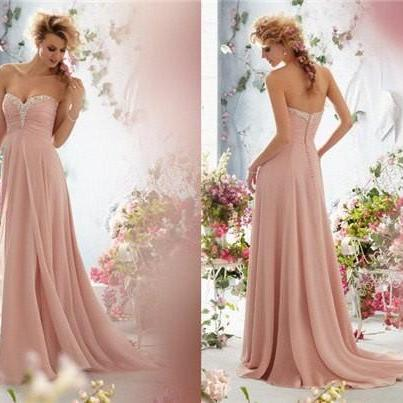 Strapless Sweetheart Ruched Beaded ..