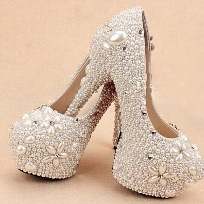 2017 customized Wedding Shoes High ..
