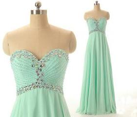 Mint Green Sweethear..