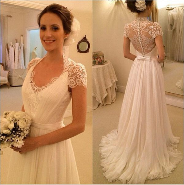 Wedding DressesLuxury DressLace DressA Line Dress