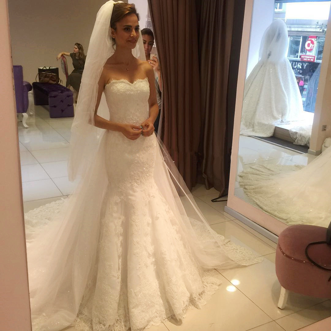 Wedding Dresses, Wedding Gown,Bling Beading Sequin Sweetheart A Line ...