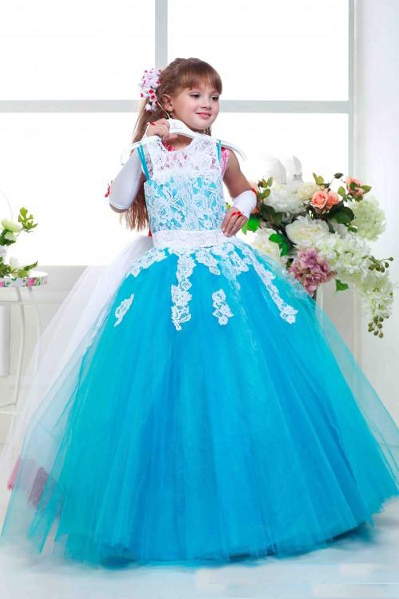 Flower girl dresses.Elegant Crystal Beads Flower Girl Dresses Floor Length Corest Back First Communion Dresses For Girls Kids Prom Dress