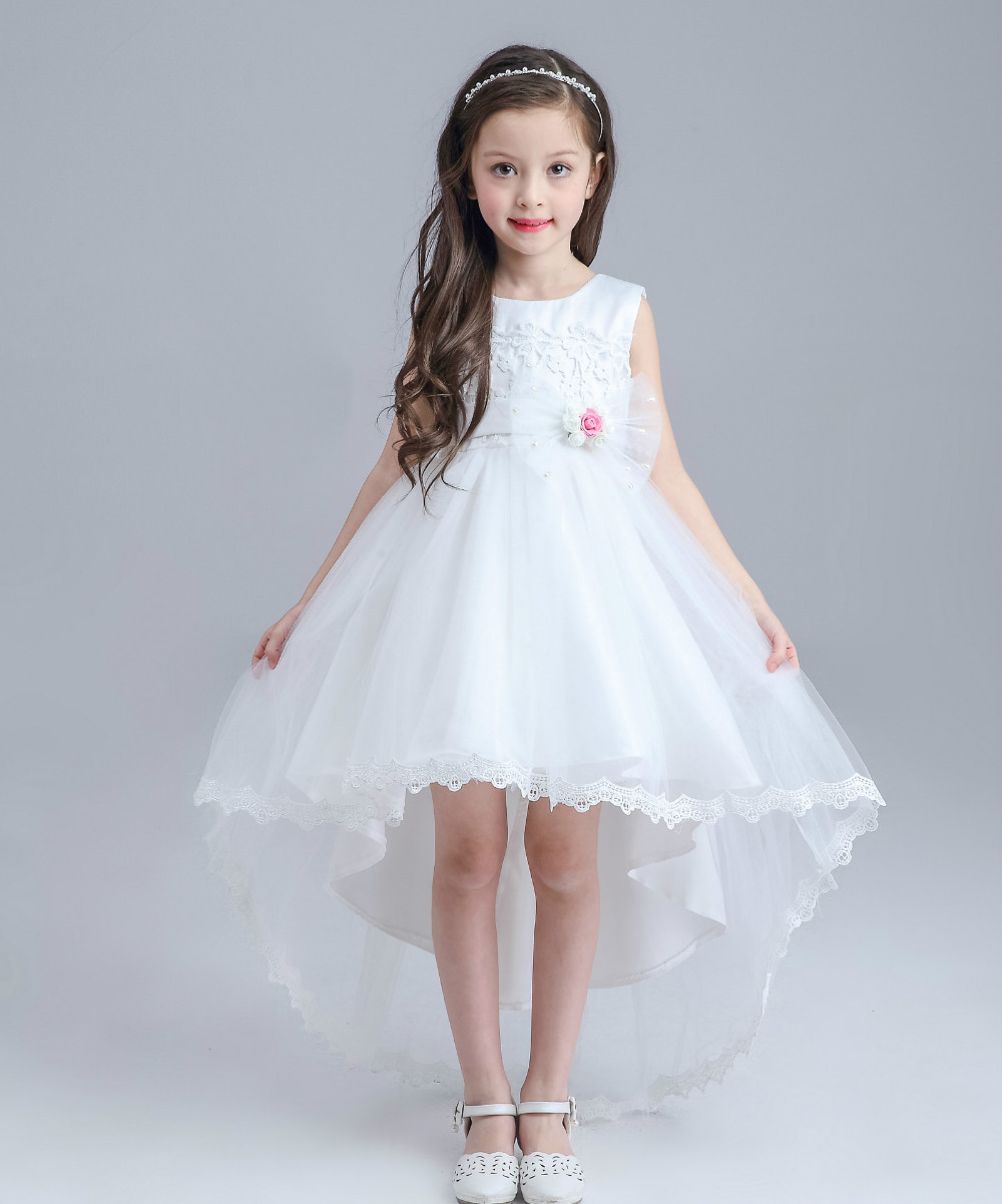 Flower girl girl dress flower girl dress for Little flower girl wedding dresses