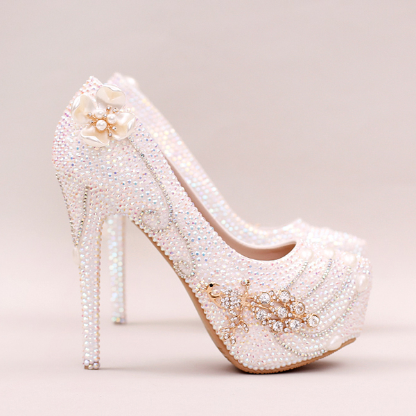 8e65f3ce2493 Pearl Wedding Shoes