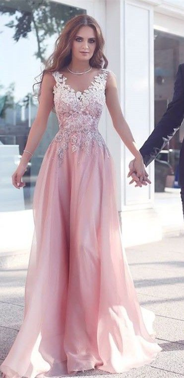 Beautiful Pink Prom Dress 0f88e8ab2