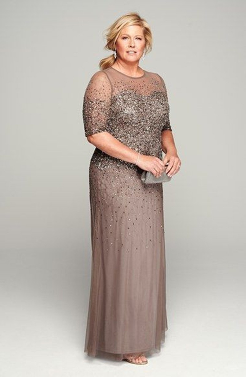 Sparkle Mother Dress For Wedding Plus Size Mother Of The Bride Dress