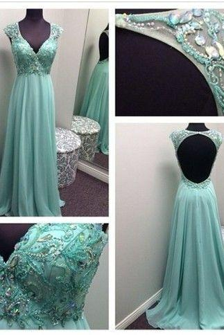 High Quality EVENING Dress Preety Prom Dress Chiffon PARTY Dress A-Line Prom Dress Crystal Prom Dress