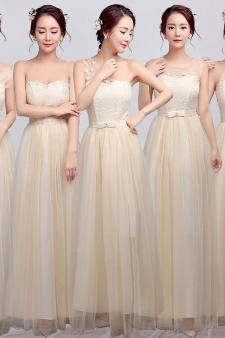 Bridesmaid Dresses , Long Bridesmaid Dresses Purple bridesmaid, elegant dress the lace dressSisters bridesmaid dresses long evening dress 2016 new bridesmaid dresses long temperament elegant dress