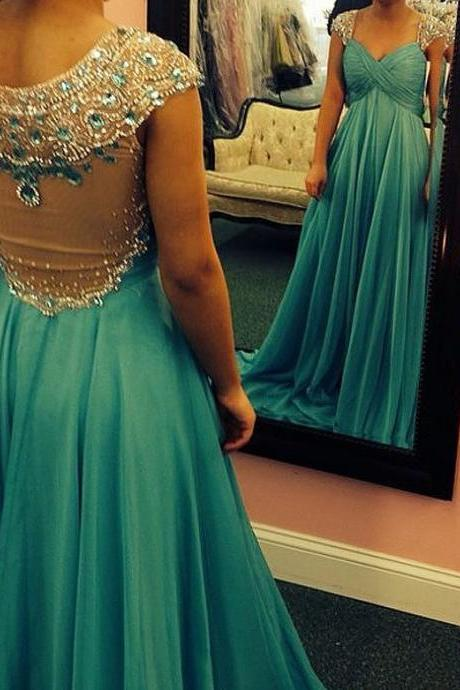,Charming Prom Dress,Beading Prom Dress,Chiffon Prom Dress,Scoop Evening Dress,Mermaid Prom Dress,Backless Evening DressNew Arrival 2016 Customize Beading Chiffon Prom Dress Sleeveless Evening dress Formal Dresses Evening Gown Long Party dressCharming Prom Dress,Beading Prom Dress,Chiffon Prom Dress,Halter Evening Dress