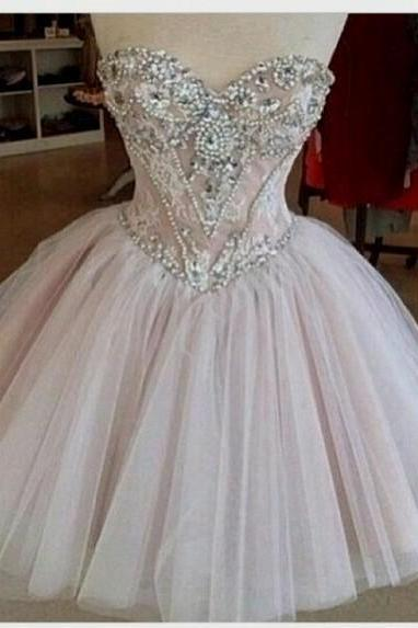 Sexy Prom Dress ,Charming Homecoming Dress,Satin Homecoming Dress,Lace Homecoming Dress,Half-Sleeve Homecoming Dress