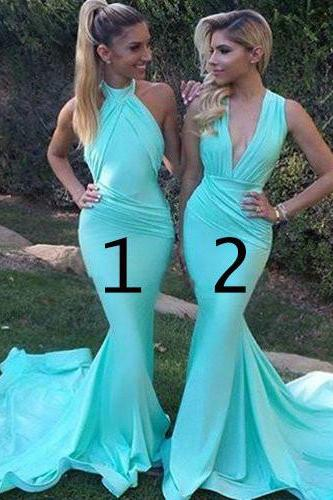 Unique design bridesmaid dress, sexy mermaid bridesmaid dress, long mismatched bridesmaid dresses, wedding party dress, dress for maid of honor, long bridesmaid dress,