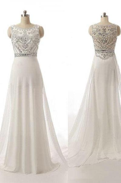 long prom dress, white prom dress, modest prom dress, off shoulder prom dress, elegant prom dress, inexpensive prom dress, evening dress