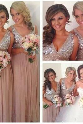 long bridesmaid dress, v-neck bridesmaid dress, off shoulder bridesmaid dress, sequin bridesmaid dress, discount bridesmaid dress