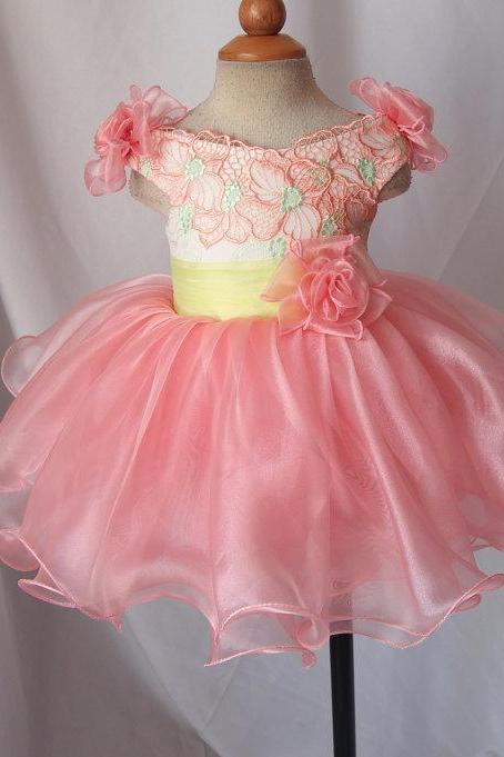 Children Dress,Flower Girls Dresses,Kids Dress,Child Clothing,Girl Brithday Party Dress,Princess Dress,Girl Party Dress,bridesmaid DressRuffles ball gown lace flower girl dress baby infant pageant clothes