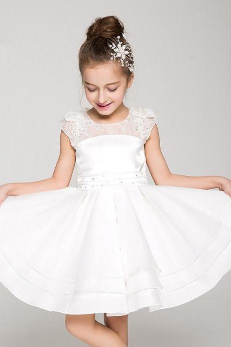 Children Dress,Flower Girls Dresses,Kids Dress,Child Clothing,Girl Brithday Party Dress,Princess Dress,Girl Party DressFlower Girls Dresses Ball Gown Applique Kids Girls First Communion Dress Party Dress
