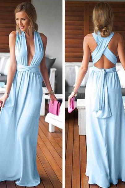 Party Dress, Party Dresses, Long Party Dress, Open Back Party Dress, Sleeveless Party Dress, A-line Party Dress, Prom Dress, Long Prom Dress,