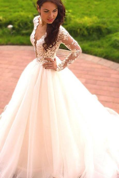 Wedding Dresses,Wedding Gown,Princess Wedding Dresses elegant ball gowns wedding dresses