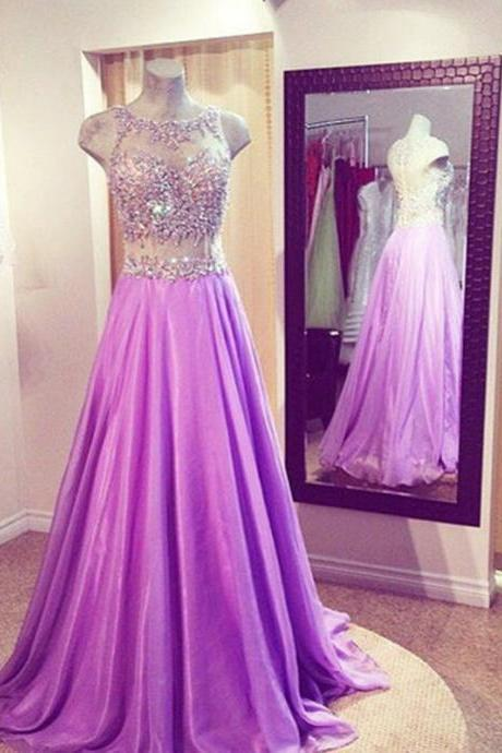 Charming Prom Dress,Beaded Prom Dress,A Line Prom Dress,Fashion Prom Dress,Sexy Party Dress, New Style Evening Dress