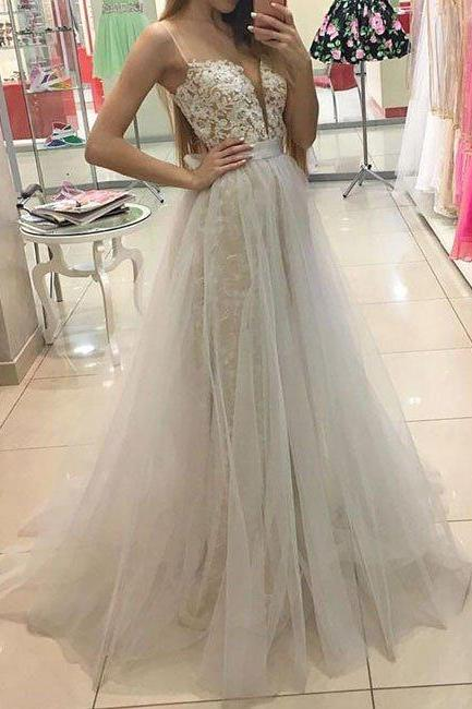 Charming Prom Dress, White Sweetheart Prom Dress,Lace Prom Dress, Tulle Long Prom Dress,Woman Formal Dresses,Elegant Lace Prom Dress, Modest Prom Dress,Real Made Evening Prom Dress,Wedding Party Dress,