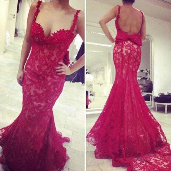 Sexy Prom Dresses ,Mermaid Prom Dresses ,Red Prom Dresses ,Lace Prom Dresses, Sweetheart Prom Dresses ,Floor Length Prom Dresses ,Spaghetti Straps Formal Prom Dresses ,Women Backless Dresses ,Vestido De Festa