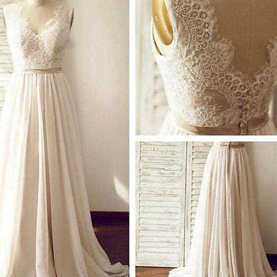 LACE prom dress The outfit that show a backprom dress Neat dress, evening dress, PROM dress, wedding dressElegant dress, sexy dress