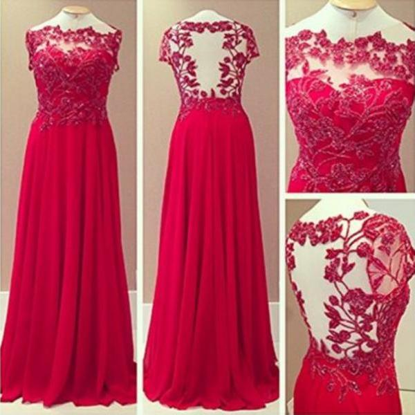 Red Prom Dresses,Prom Dress,Red Prom Gown,Lace Prom Gowns,Elegant Evening Dress,Modest Evening Gowns,Simple Party Gowns,Lace Prom Dress,Wedding Guest Prom Gowns, Formal Occasion Dresses,Formal Dress