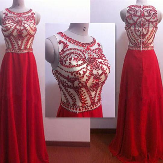Sexy Red Prom Dress,Long Prom Dress, Sequins Prom Dress, Modest Prom Dress, Pretty Prom Dress, Prom Dress On Sale